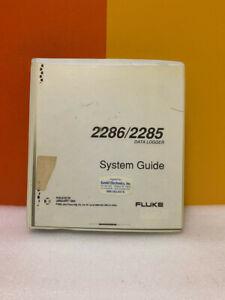 Fluke 870175 2285 2286 Data Logger System Guide