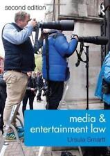 Media & Entertainment Law by Ursula Smartt Paperback, 2017 (h2)