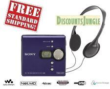 Sony Mz-N420D Net Md Walkman portable Mini Disc Player/Recorder vintage Blue