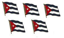 5er Pack Kuba  Flaggenpin ca. 20 mm,Pin, Flagge, Anstecknadel