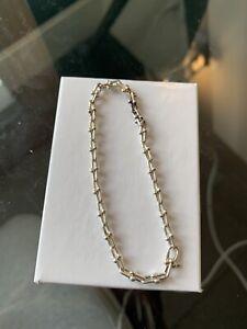 Tiffany & Co Sterling Silver HardWear Link Bracelet
