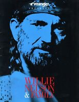 WILLIE NELSON AND FAMILY 1986 WRANGLER TOUR CONCERT PROGRAM BOOK-NEAR MINT
