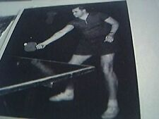 ephemera 1958 picture ferenc sido hungarian table tennis