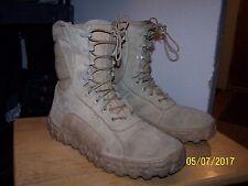 Rocky SV2 military combat boots mens 13M tan desert spec ops USA navy seals