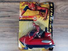 Spider-Man 2, Bump & Go wave rider, by marvel toy biz. NEW in BOX!