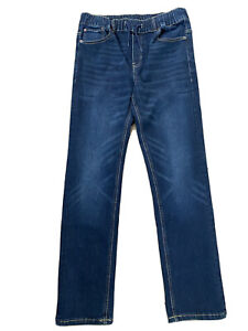 LUCKY BRAND Women's  Blue Jeans Size 18/20  (XL)  Elastic  With Drawstrings.