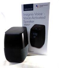 Insignia™ - Voice™ Smart Bluetooth Speaker and Alarm Clock NS-CSPGASP