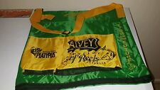 Alvey wading bag Green and Gold fish and bait sholder bag B1201