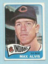 1965 Topps Baseball Max Alvis #185 Cleveland Indians EX+