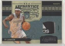 2009 Timeless Treasures NBA Apprentice Materials Prime 1/1 Ty Lawson #17 Rookie