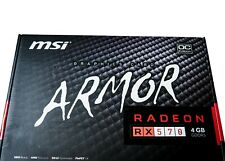 MSI AMD RX 570 ARMOR 4G OC Graphic Card for Gaming