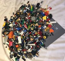 11+ # Clean Lego Parts Pieces from BIG  BULK LOT- Bonus  MINIFIGURES