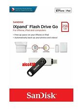 Sandisk 256GB iXpand Flash Drive GO OTG for iPhone/iPad/Computers IX60 AU