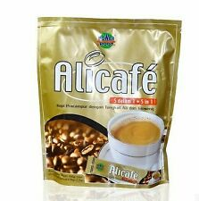 instant coffee Tongkat Ali  and ginseng Alicafe 20 sachets X 20g Halal