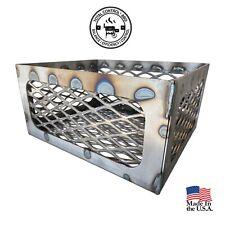 Brinkmann Trailmaster Fire Box mods charcoal basket fits Vertical - Horizontal