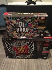 Guitar Hero Warriors of Rock & DJ Hero PS3 Bundle Sony Playstation 3 NEW SEALED