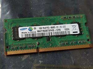 Samsung 1GB DDR3-1066MHz PC3-8500 SODIMM Laptop RAM - M471B2873FHS-CF8