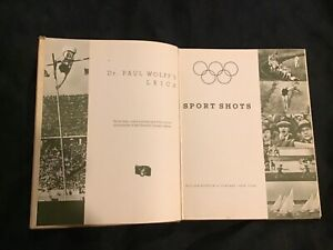 SPORT SHOTS LEICA DR WOLFF BERLIN 11th OLYMPIC GAMES 1936 JESSE OWENS, HITLER VG