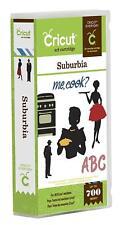 Cricut Everyday Cartridge, Suburbia - Brand New