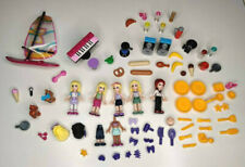 Lego Friends Large Minifigure Lot Accessories Food Speakers Cooking Dogs Sail