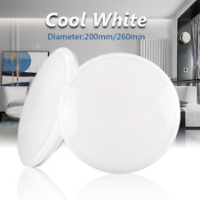 Led Ceiling Light Round Surface Mounted Cool White 12w 18w Hardwire Dustproof