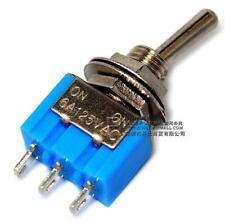 10pcs Mini MTS-103 3-Pin G106 ON-OFF-ON 6A 125V 3A250VAC Toggle Switches Good Qu