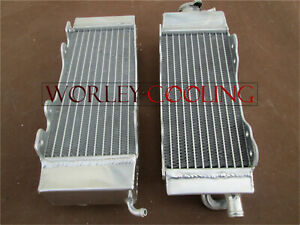 aluminum radiator for YAMAHA YZ125 YZ 125 1996-2001 1997 1998 1999 2000 01