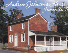 """Andrew Johnson's House"" (17th US President) /Greeneville Tn/ ~Postcard~ (B-315)"