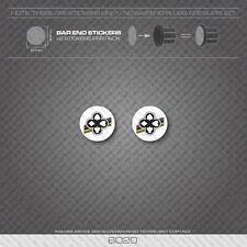 6020 - Ciocc Bicycle Handlebar Bar End Plug Stickers - Decals