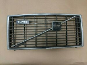Volvo 240 242 244 Turbo Eggcrate Grille With Badge