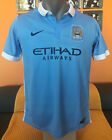 MANCHESTER CITY FC 2015/16 Football Shirt Soccer Jersey Maillot Trikot Camiseta