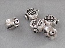 925 Silber Zwischenteile, Spacer Perlen, Altsilber, DIY Vintage Schmuck