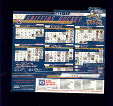 2002-03 Grand Rapids Griffins AHL Detroit Red Wings team issued magnet schedule