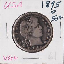 USA 1895-O | Barber Half Dollar 50 cents | VG+