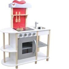 Spielküche Für Kinder Aus Holz Von Beluga, Farbe Natur Weiss OVP Neu