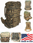 ILBE Pack w/ Lid, Belt & Straps. USGI Arc'teryx Bora Marine Corps USA Very Good