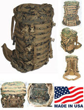 ILBE Pack w/ Lid, Belt & Straps. USGI Arc'teryx Bora Marine Corps USA Very Good
