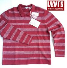 71f795a3da4c76 Levi's Vintage Clothing LVC 100% Wool Striped Sweater $285
