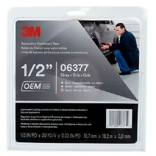 """3M 06377 Automotive Attachment Tapes Gray 1/2"""" x 20 yards, .030"""" Thickness"""