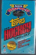 1996-97 TOPPS PICKS HOCKEY RETAIL FACTORY SEALED BOX