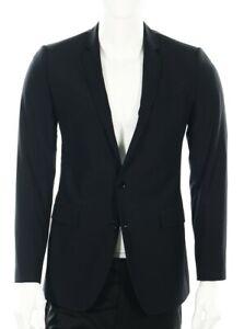 Dolce & Gabbana 139280 Black Wool 'Martini' Blazer Jacket sz 46R $1,129