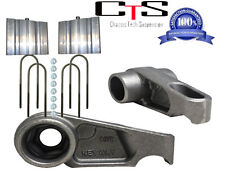 """D GMC Chevy Canyon Colorado 4Wd Keyway 2"""" Front Rear Lower Blocks 2004-12"""