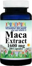 Maca Root Extract 1600 mg 200 Caps - Enhance Sexual Health Desire & Drive