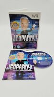 Jeopardy (Nintendo Wii, 2010) With Manual
