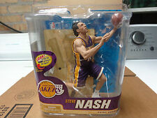 MCFARLANE STEVE NASH NBA22 BRONZE COLLECTORS LEVEL PURPLE LAKERS FIGURE