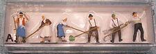 Preiser HO #10045A People Working -- Harvest Workers