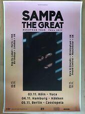 SAMPA THE GREAT  2017 TOUR + orig.Concert Poster -- Konzert Plakat  A1 NEU