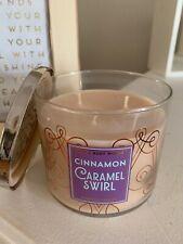 Bath And Body Works: Cinnamon Caramel Swirl 3-Wick Candle