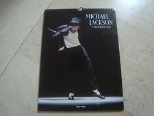 MICHAEL JACKSON rare XL oversized bi-weekly Calendar GREAT photo collection