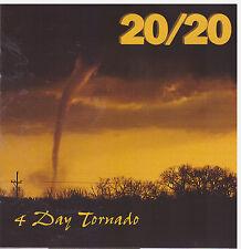4 DAY TORNADO 20/20 (CD, 1995, Oglio Records)